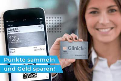 Die Kundenkarte im VW-Autohaus Glinicke