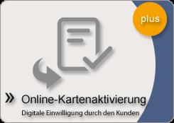 Online Kartenaktivierung Modul Kundenkarte