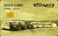 Die Kundenkarte Gold Card bei Brecht Caravan