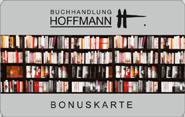 Die Kundenkarte bei der Buchhandung Hoffmann
