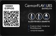 Die Kundenkarte bei GermanFLAVOURS