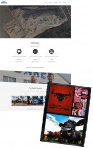 Die Webseite von Bares Baustoffe und Fleischwerk