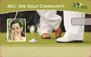 Die Kundenkarte bei der Golf Community IGC