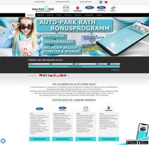 Bonusprogramm auf der Website von Auto-Park Rath