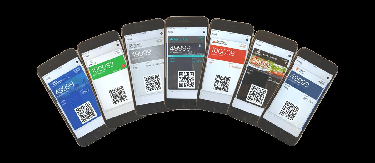 Digitale Kundenkarten