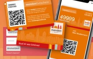 Das mendenGutschein - Citycard