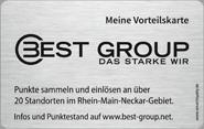 Die Vorteilskarte der Autohausgruppe Best Group