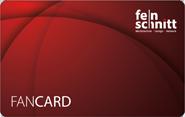 """Die Kundenkarte """"FanCard"""" von Feinschnitt Werbetechnik"""