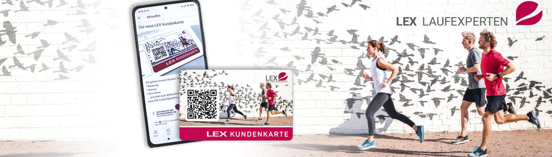 """Die Kundenkarte der """"LEX LAUFEXPERTEN"""""""