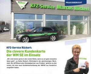 Praxisbericht der KFZ-Service Marcus Rückert über die Kundenkarte