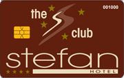 Die Kundenkarte vom Stefan Hotel
