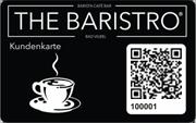 Die Kundenkarte der Café-Bar THE BARISTRO