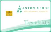 Die Kundenkarte vom Hotel Antoniushof